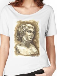 Female Bust - Sculpture I-III DC, Rome Women's Relaxed Fit T-Shirt