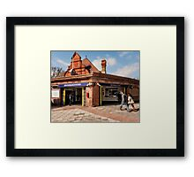 Southfields Tube Station Framed Print