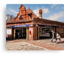 Southfields Tube Station Canvas Print