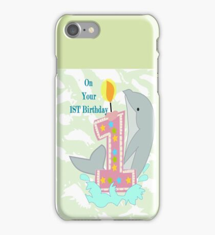 on your First Birthday (8597 Views) iPhone Case/Skin