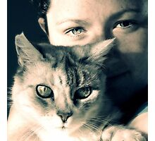 Miss Molly & Jess II Photographic Print