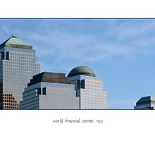 world financial center,  nyc.  (card) by Erwin G. Kotzab