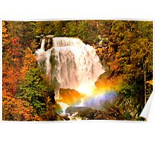 Whitewater Rainbow Poster
