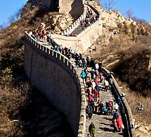 The Great Wall of China by Ruben D. Mascaro