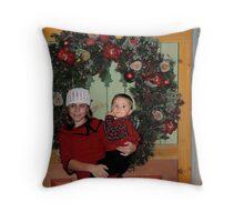 Daughter&Nathan Throw Pillow
