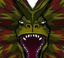 Jurassic Park Dilophosaurus Sticker