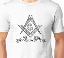 Masons Faith Hope Charity Unisex T-Shirt