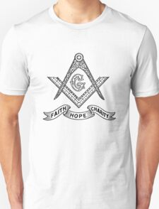 Masons Faith Hope Charity T-Shirt