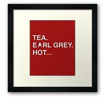 Earl Grey Framed Print