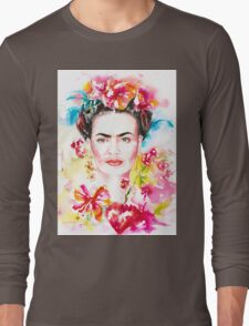 Frida´s Garden Long Sleeve T-Shirt