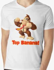 Top Banana Mens V-Neck T-Shirt