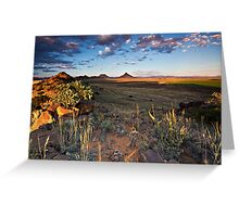 Teebus Valley Greeting Card