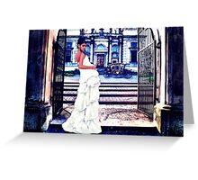 High Fashion Gate Fine Art Print Greeting Card