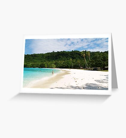 somewhere in paradise Greeting Card