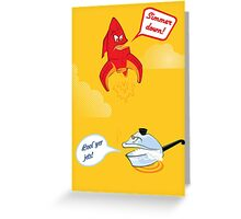 """""""It's Gonna Be A Punny Day"""" Greeting Card"""