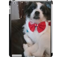 Rosie in her bow tie iPad Case/Skin