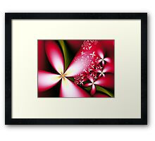 Merry Little Flowers  Framed Print