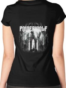 Powerwolf - Blood of the Saints Women's Fitted Scoop T-Shirt