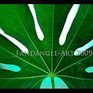 Full Green Leaf by fandangle-art