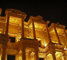 Library of Celsus, Ephesus by Christopher Biggs
