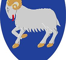 Coat of Arms of Faroe Islands  by abbeyz71