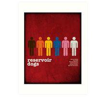 Reservoir Dogs Poster (Filtered) Art Print