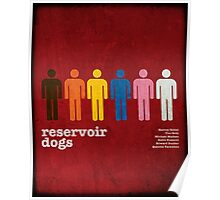 Reservoir Dogs Poster (Filtered) Poster