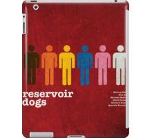 Reservoir Dogs Poster (Filtered) iPad Case/Skin