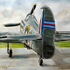 Hurricane Mk2c, LK-A by Woodie