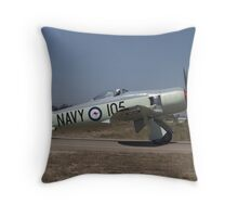 Hawker Sea Fury FB MK II Throw Pillow