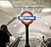 Swiss Cottage Tube Station by AntSmith