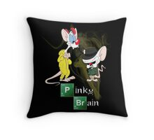 Pinky & The Brain Breaking Bad Throw Pillow