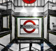 Tooting Bec Tube Station by AntSmith