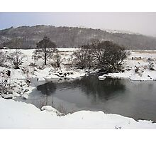icey river.  Photographic Print
