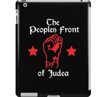 The Peoples Front of Judea iPad Case/Skin