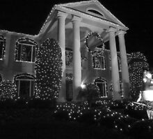 Plantation christmas BW by Larry  Grayam