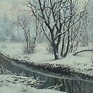 frozen river by edisandu