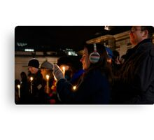 Carols by Candlelight Canvas Print