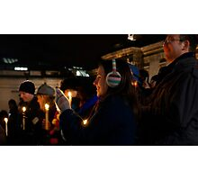 Carols by Candlelight Photographic Print