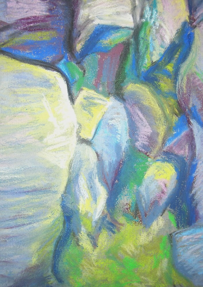 Cow and Calf 2 by Susan Duffey