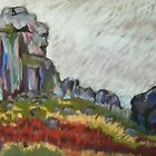 Cow and Calf 3 by Susan Duffey