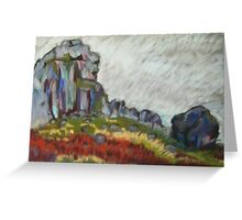 Cow and Calf 3 Greeting Card