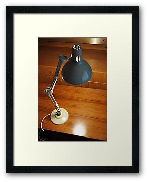 1960's anglepoise industrial lamp by beanocartoonist