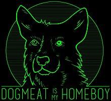 Dogmeat is my Homeboy (sticker) by spazzynewton