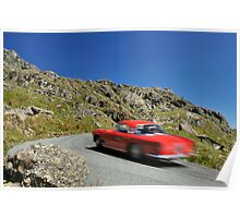 Three Castles Classic Rally of Wales .... Poster