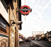 Totteridge and Whetstone Tube Station by AntSmith