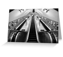 Turnpike Lane Tube Station Greeting Card