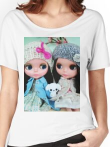 Blythe- TwoVintageDolls. Women's Relaxed Fit T-Shirt