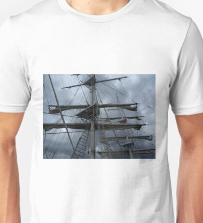 Stormy weather.....reef the topsails.......!   Unisex T-Shirt