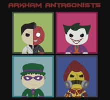 Arkham Atagonists Kids Clothes